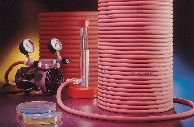 Tube Gomme Souple Rouge
