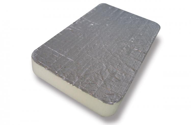 Mousse Mélamine + Film Aluminium